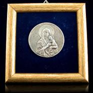 Round Madonna Icon