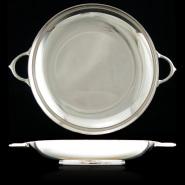 Wishbone-handle plate
