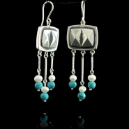 Ethnic Cypriot earrings