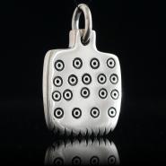 Picrolite comb pendant