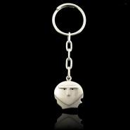 Chirokitia Silver Keyring