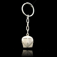 Ortos Head Silver Keyring