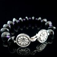 Rosette Clasp Bracelet